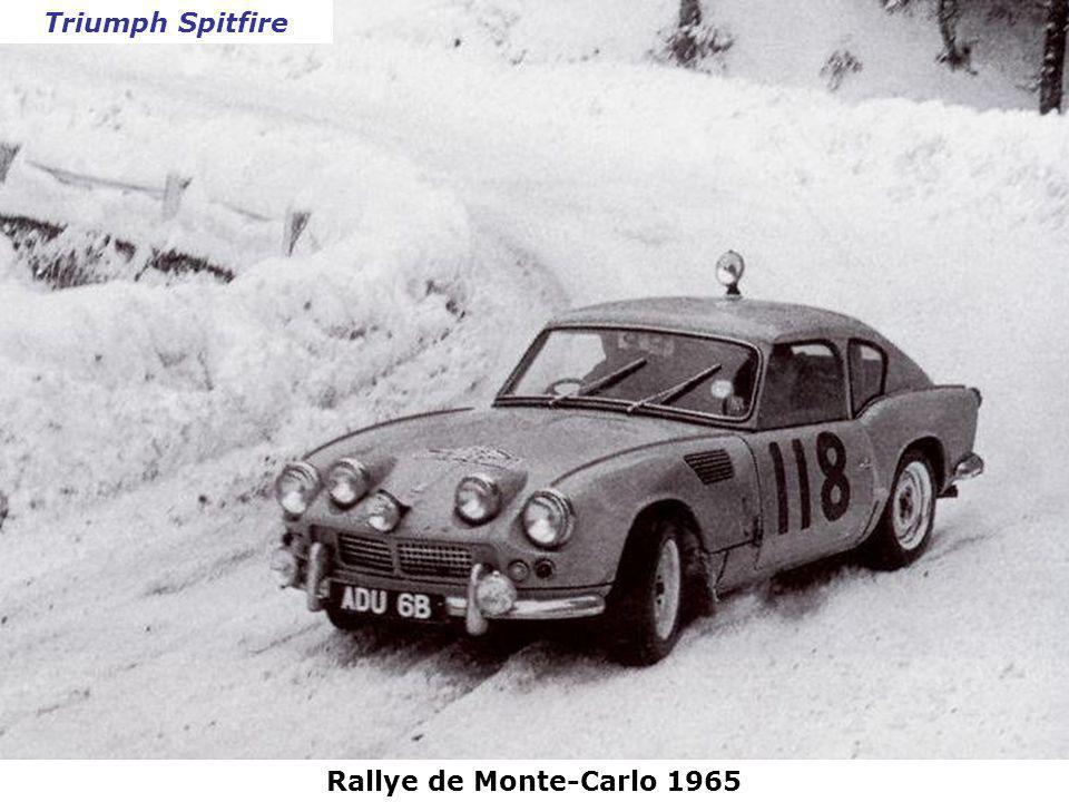 Triumph Spitfire Rallye de Monte-Carlo 1965