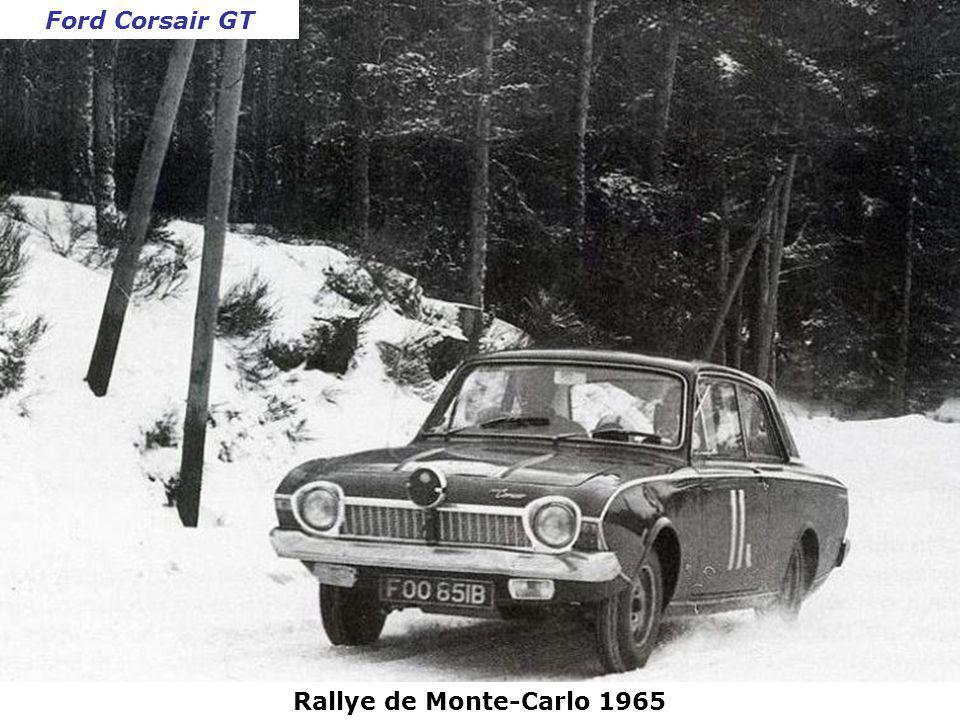 Ford Corsair GT Rallye de Monte-Carlo 1965