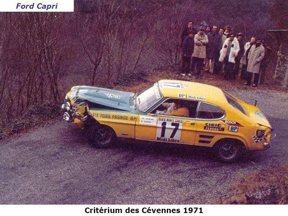 Critérium des Cévennes 1971