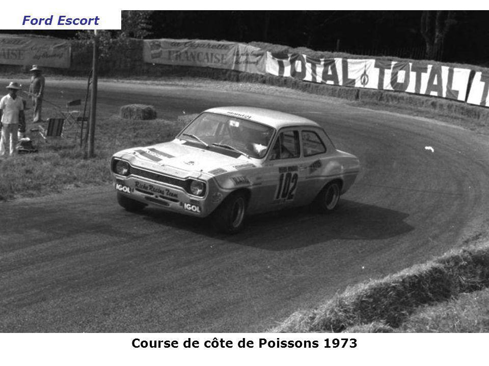 Course de côte de Poissons 1973