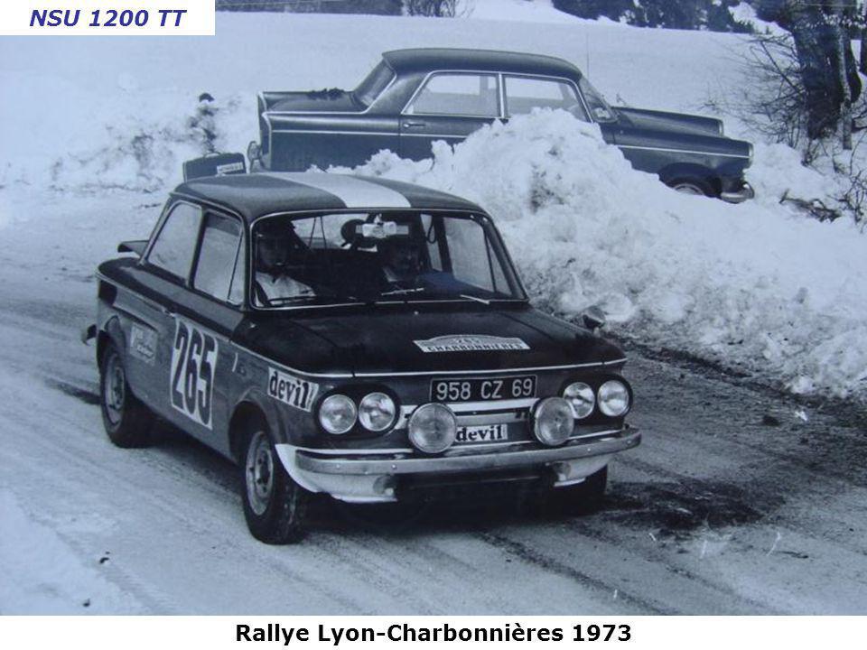 Rallye Lyon-Charbonnières 1973