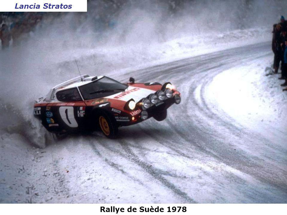 Lancia Stratos Rallye de Suède 1978
