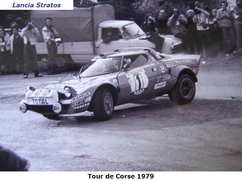 Lancia Stratos Tour de Corse 1979