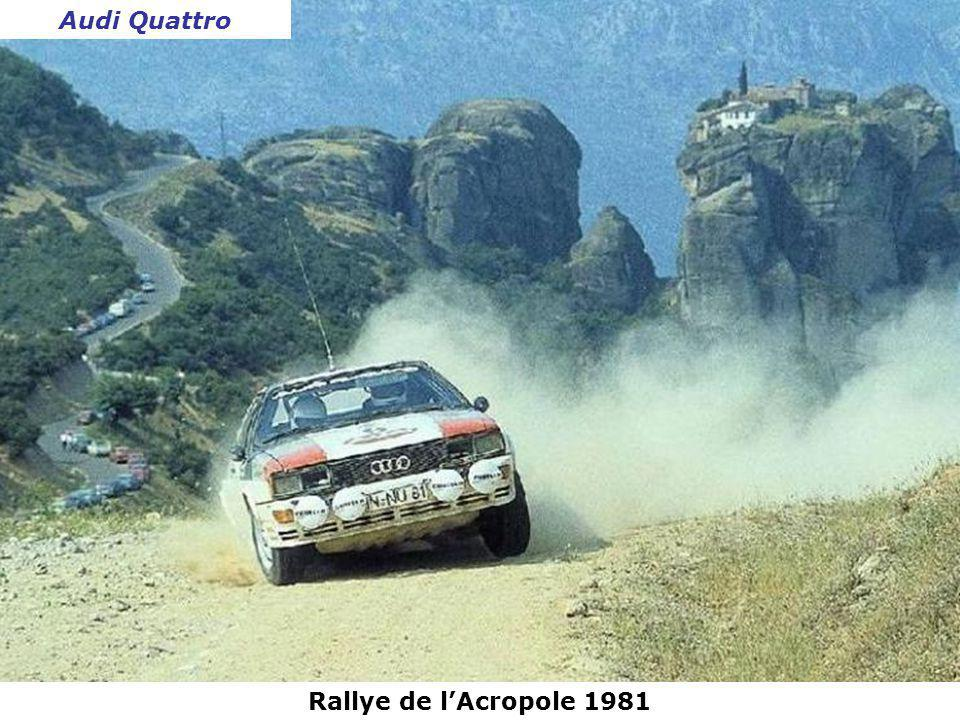 Audi Quattro Rallye de l'Acropole 1981