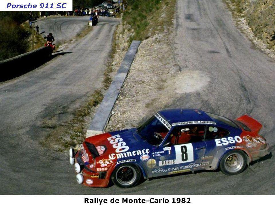 Porsche 911 SC Rallye de Monte-Carlo 1982