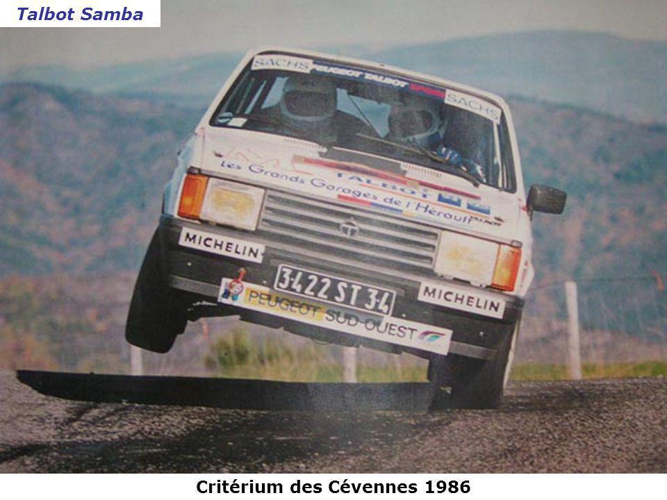 Critérium des Cévennes 1986