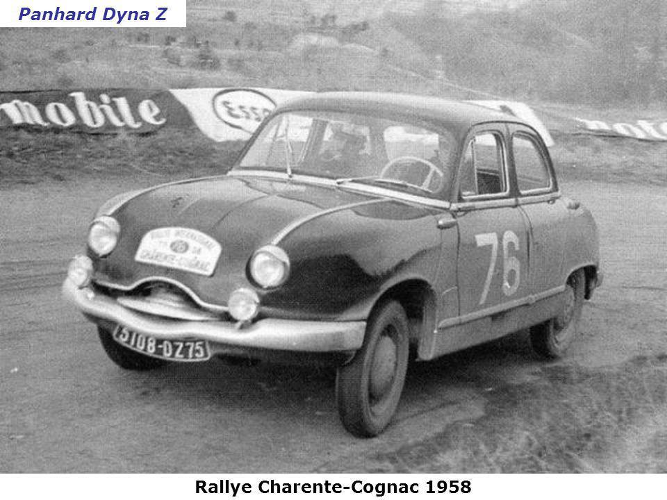 Rallye Charente-Cognac 1958