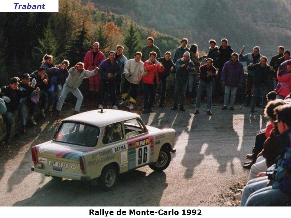 Trabant Rallye de Monte-Carlo 1992