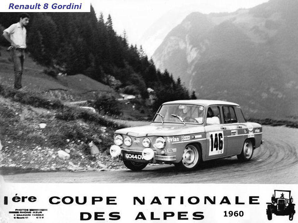 Renault 8 Gordini 1960