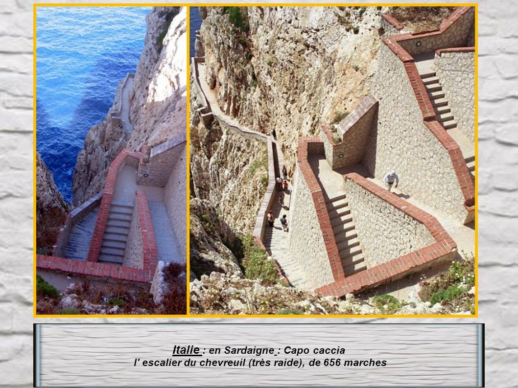 Italie : en Sardaigne : Capo caccia