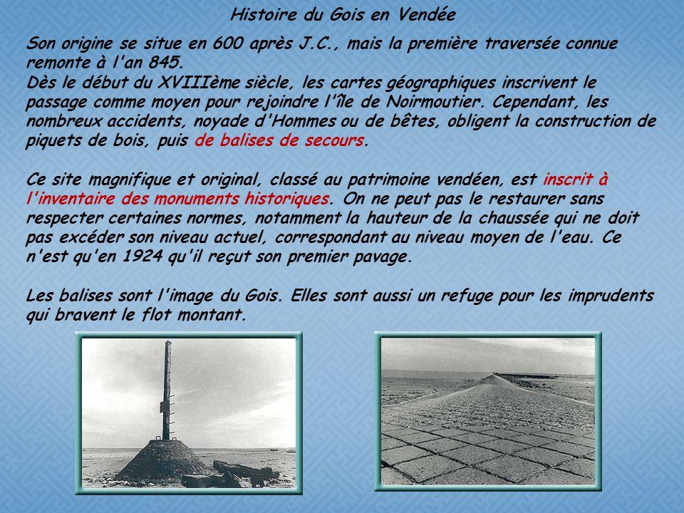 Histoire du Gois en Vendée