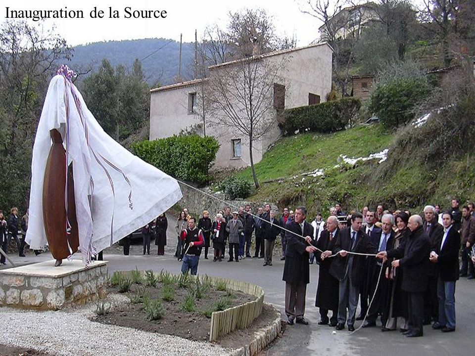 Inauguration de la Source