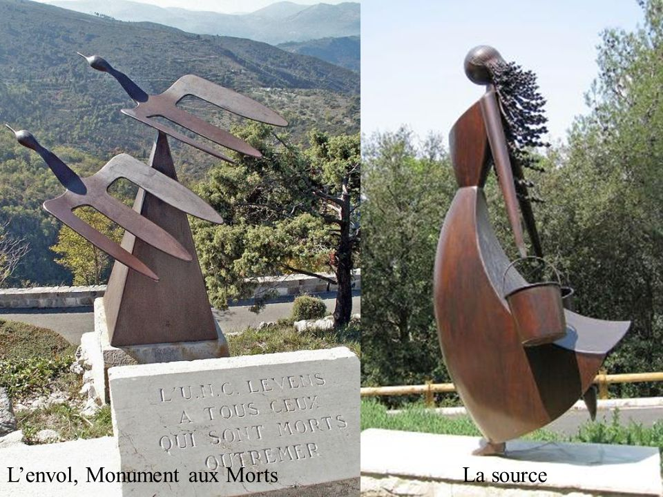 L'envol, Monument aux Morts
