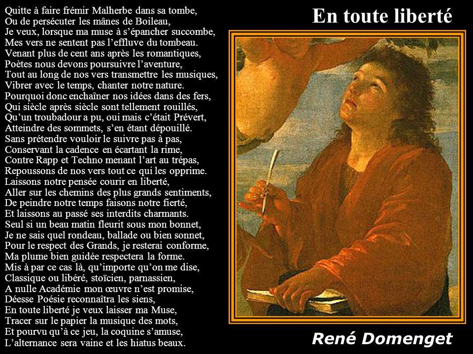 En toute liberté René Domenget