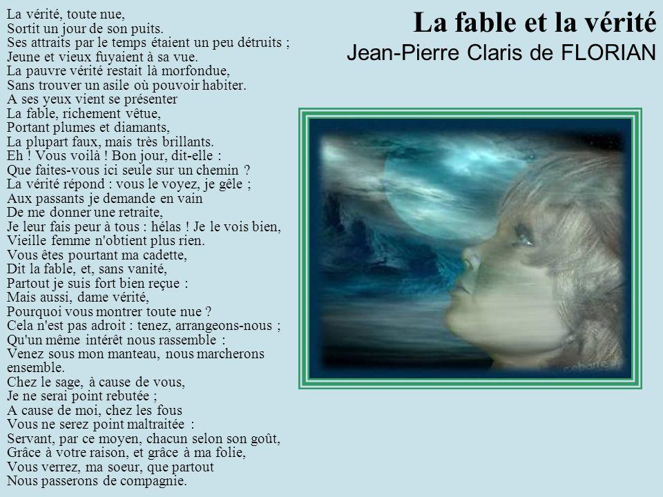 La fable et la vérité Jean-Pierre Claris de FLORIAN