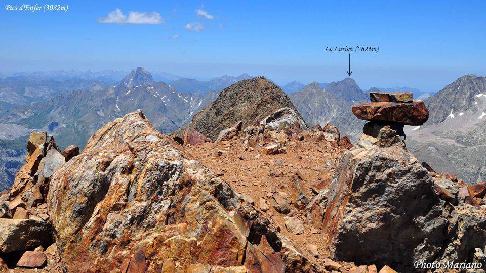 Le Lurien (2826m) . . . . . . .