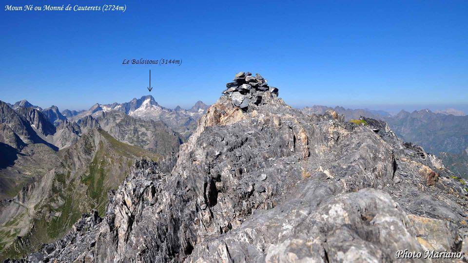 Le Balaitous (3144m) . . . . . . .