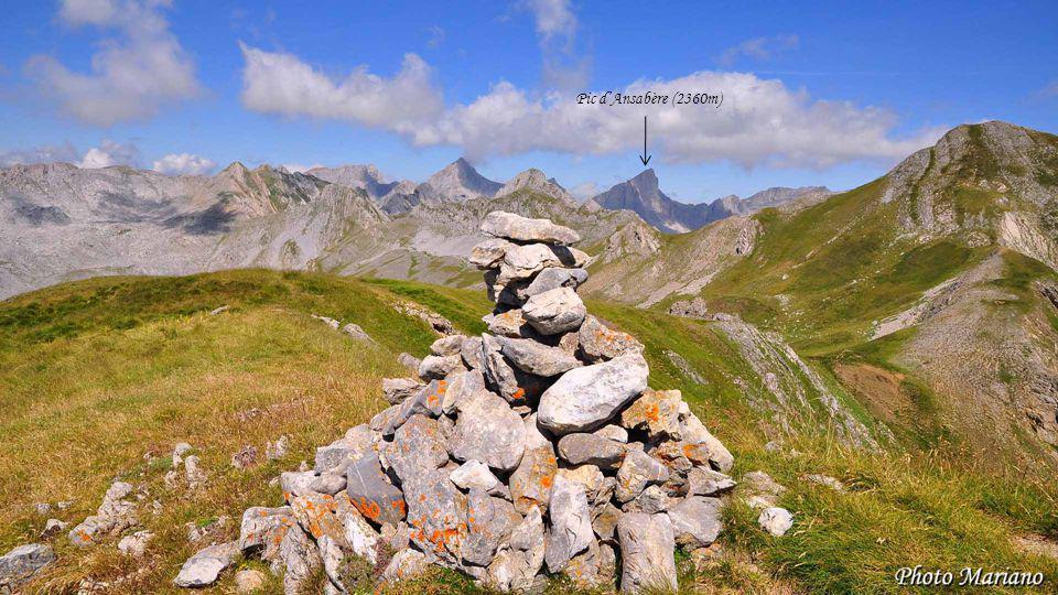Pic d'Ansabère (2360m) . . . . . . .