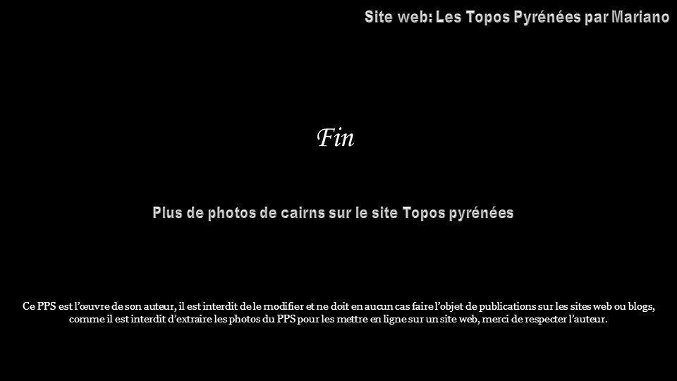 Fin Site web: Les Topos Pyrénées par Mariano