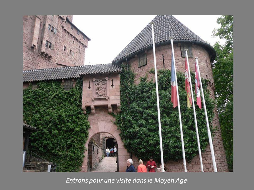 Entrons pour une visite dans le Moyen Age