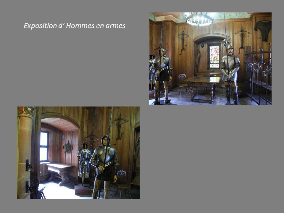 Exposition d' Hommes en armes