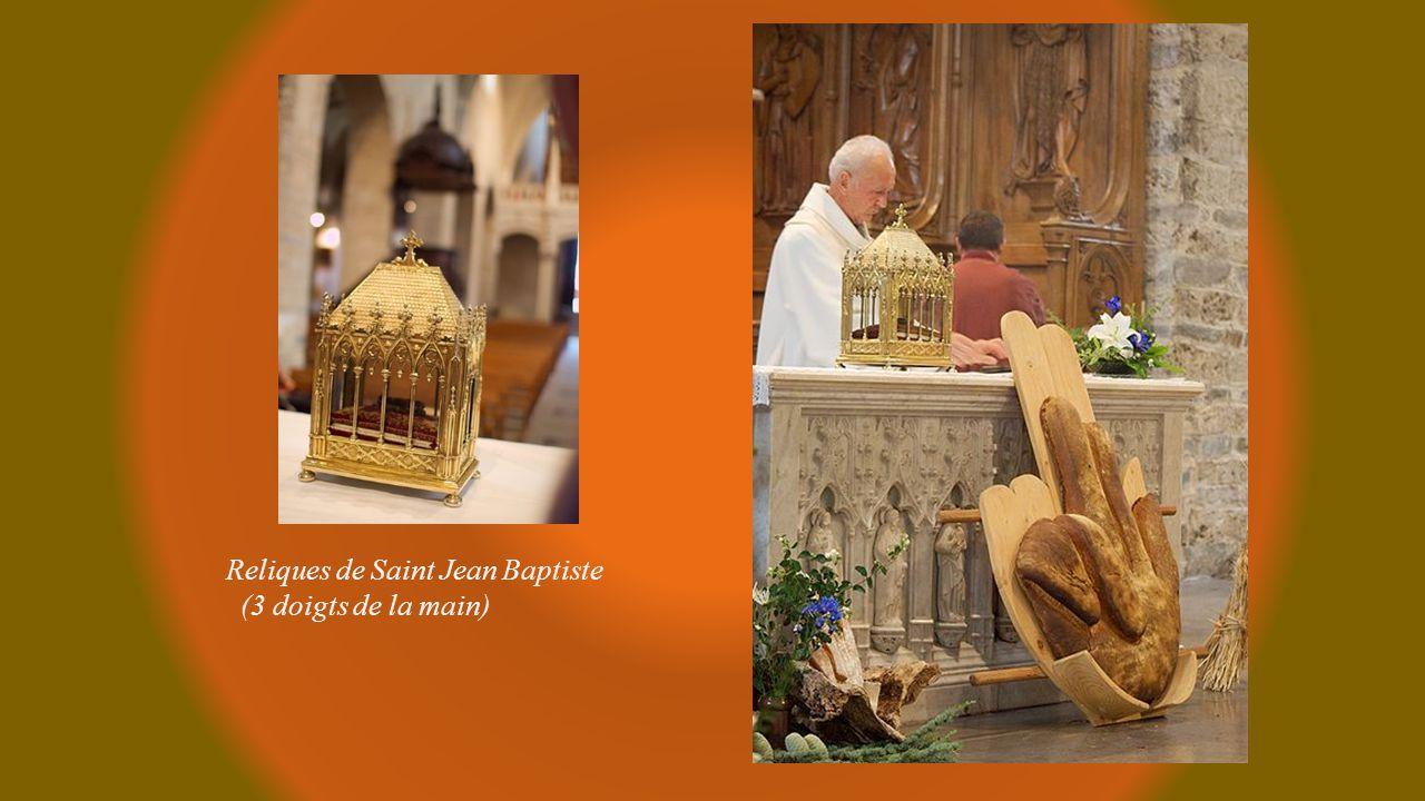 Reliques de Saint Jean Baptiste