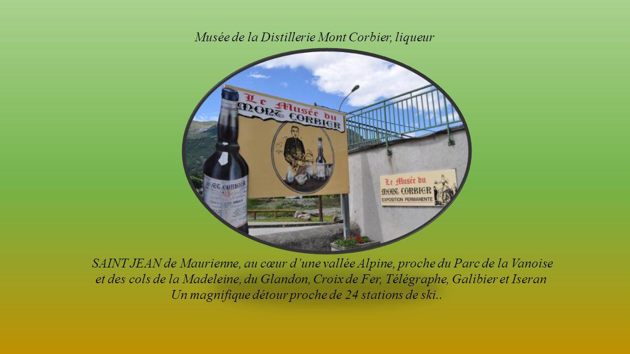 Musée de la Distillerie Mont Corbier, liqueur