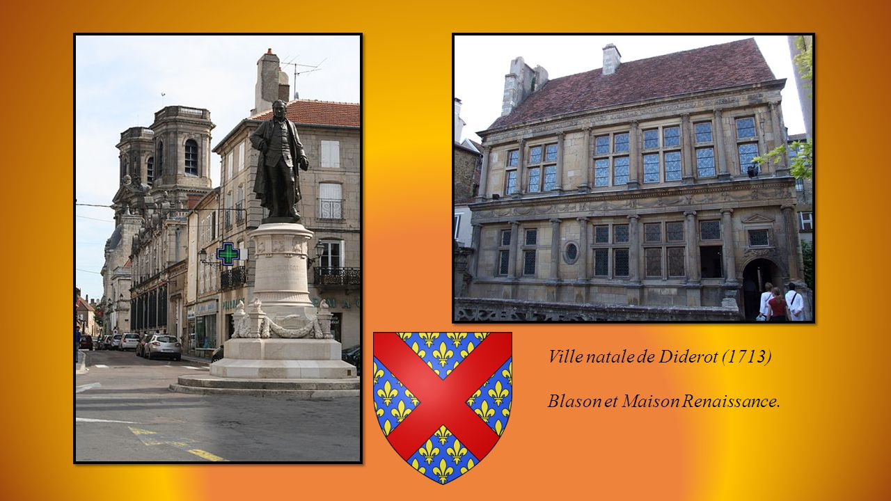 Ville natale de Diderot (1713)