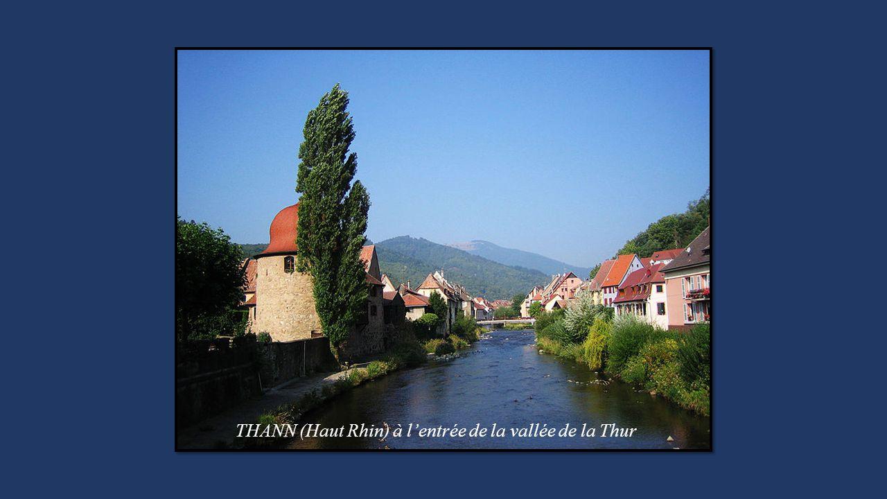THANN (Haut Rhin) à l'entrée de la vallée de la Thur