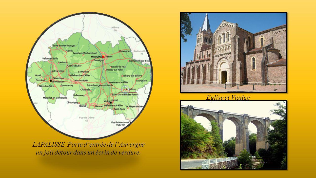 LAPALISSE Porte d'entrée de l'Auvergne