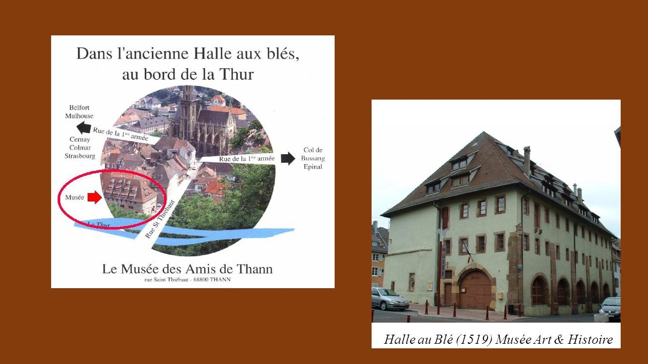 Halle au Blé (1519) Musée Art & Histoire