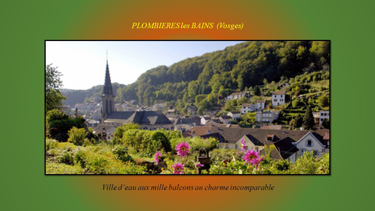 PLOMBIERES les BAINS (Vosges)