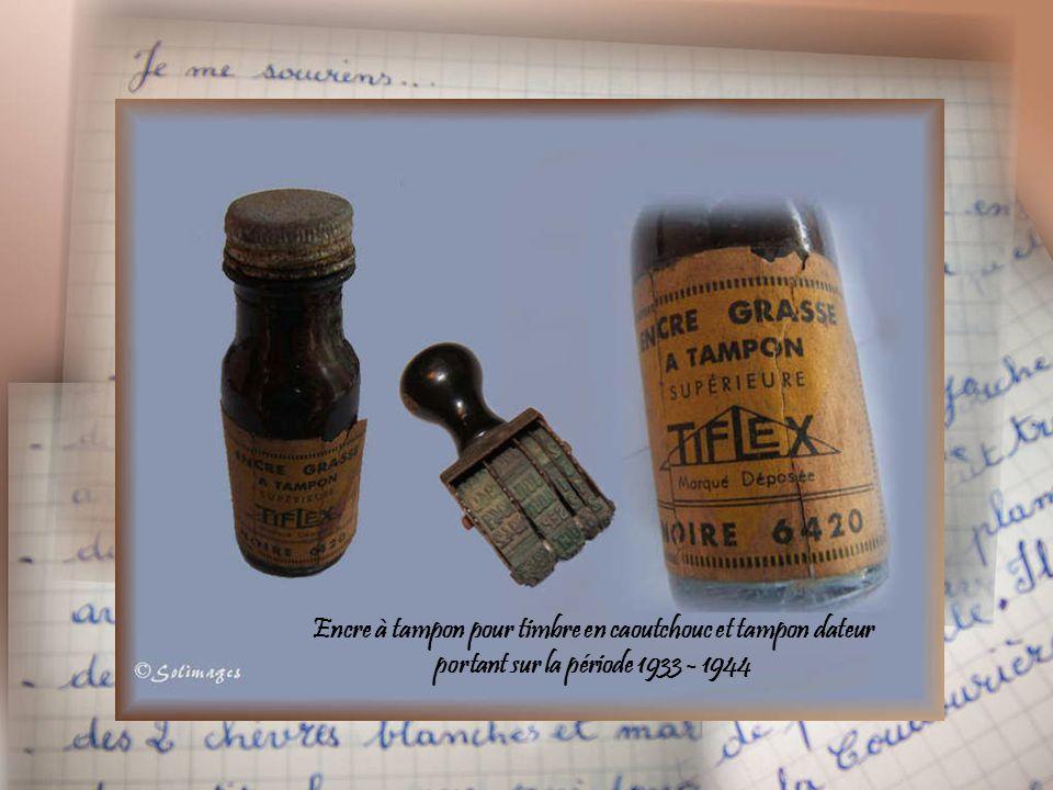 Encre à tampon pour timbre en caoutchouc et tampon dateur