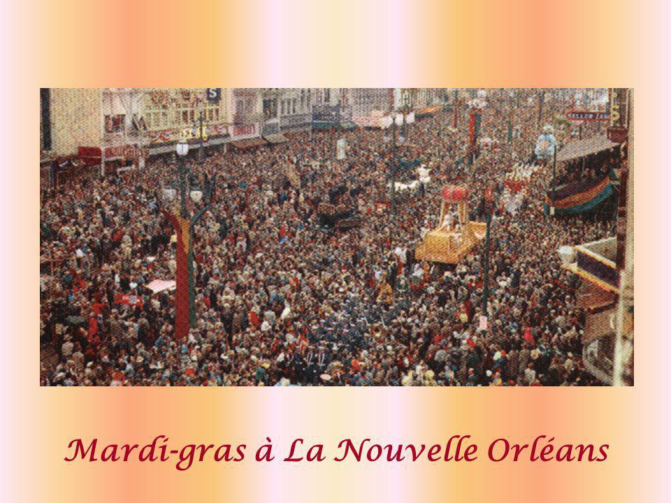 Mardi-gras à La Nouvelle Orléans