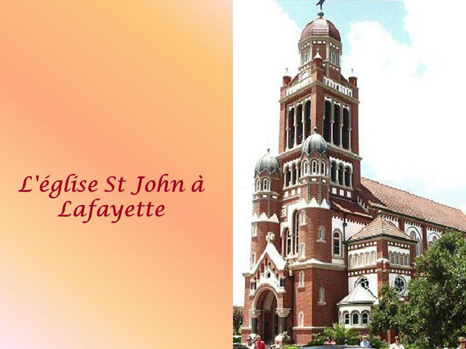 L église St John à Lafayette