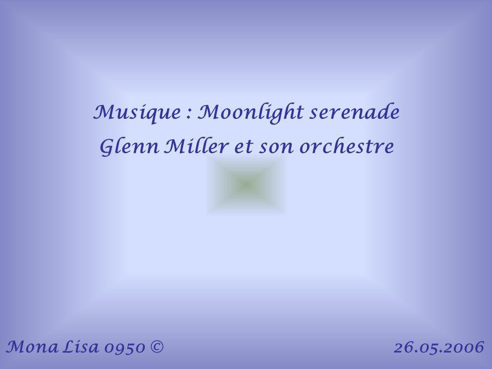 Musique : Moonlight serenade Glenn Miller et son orchestre