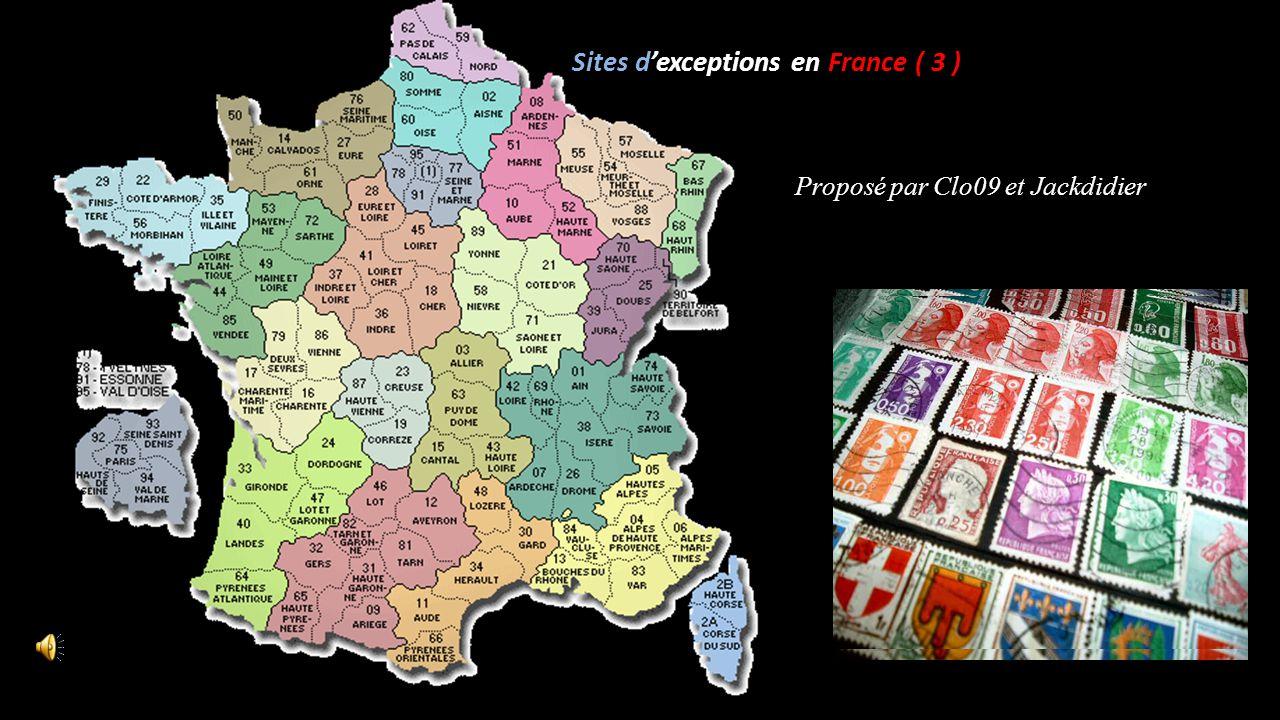 Sites d'exceptions en France ( 3 )