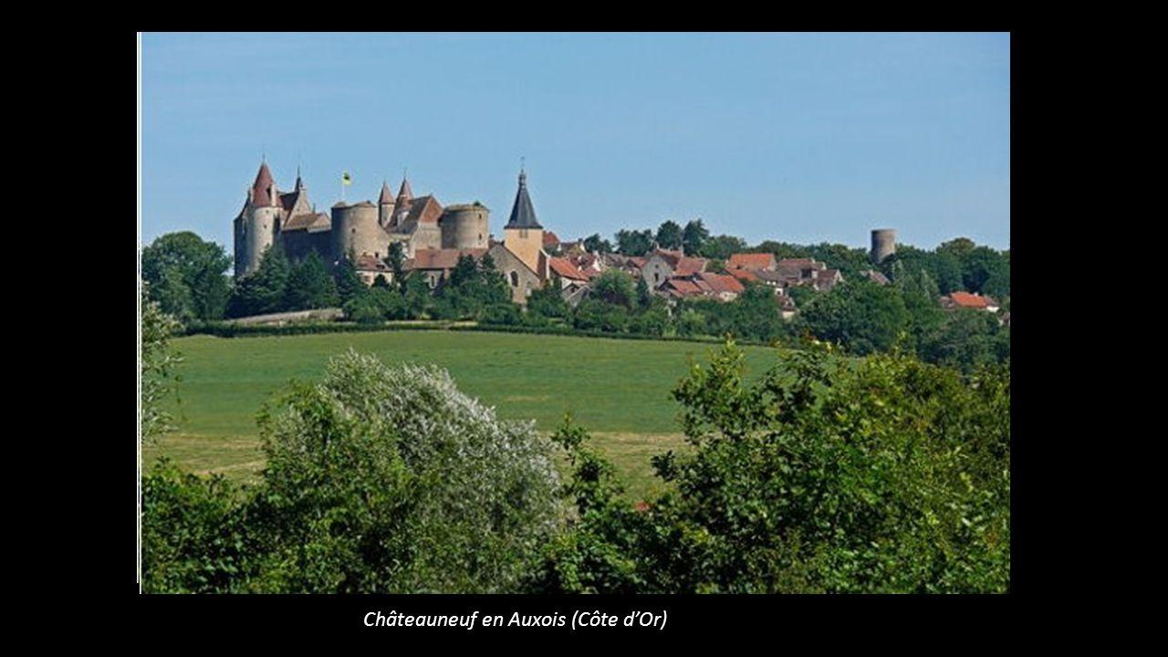 Châteauneuf en Auxois (Côte d'Or)