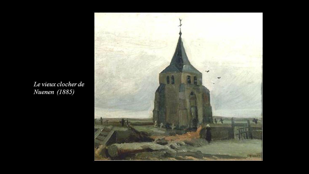 Le vieux clocher de Nuenen (1885)
