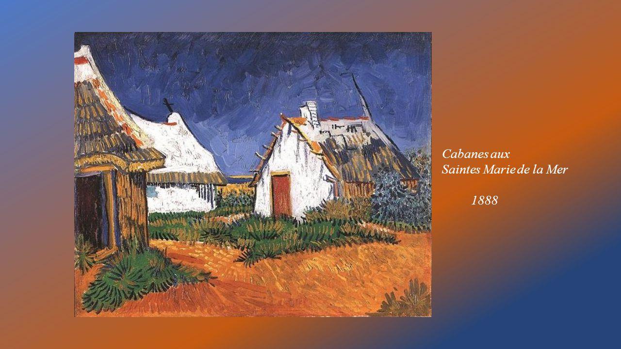 Cabanes aux Saintes Marie de la Mer 1888