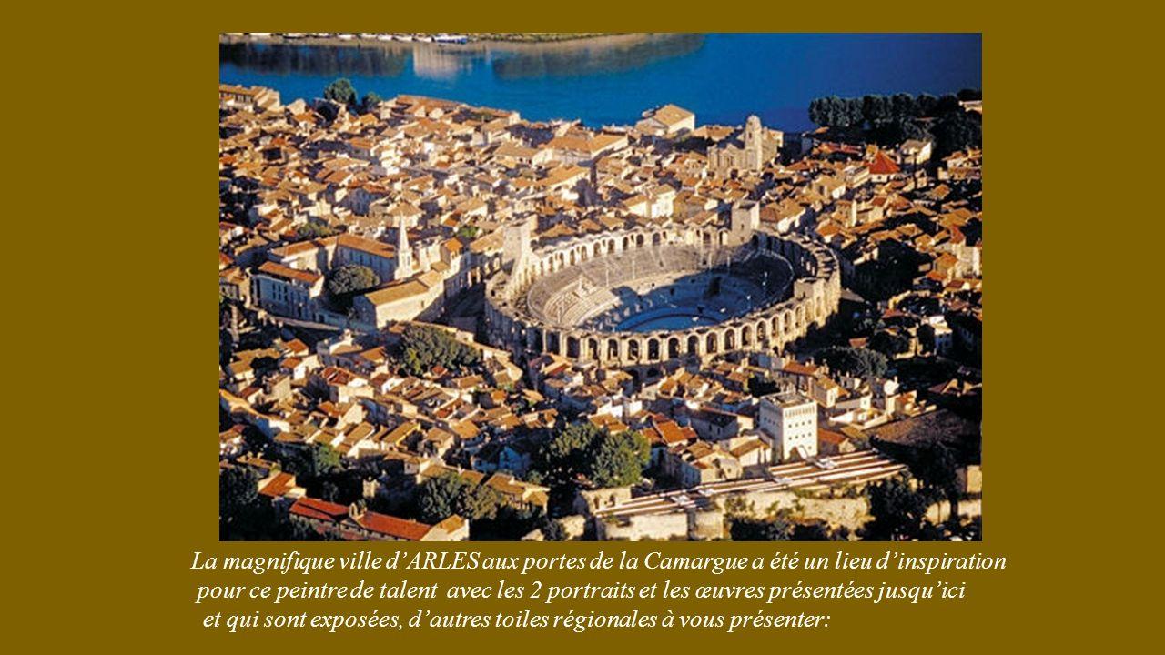La magnifique ville d'ARLES aux portes de la Camargue a été un lieu d'inspiration