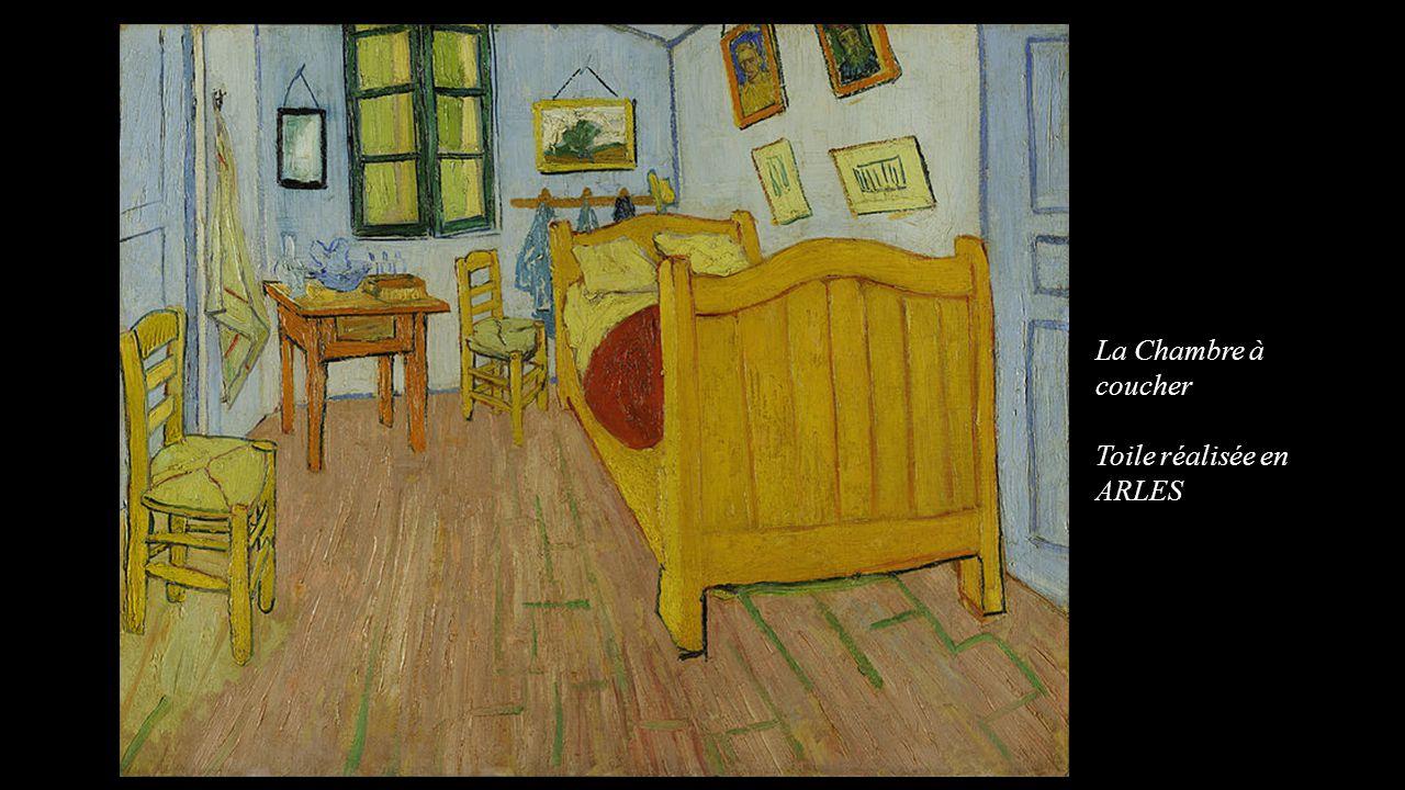 La Chambre à coucher Toile réalisée en ARLES