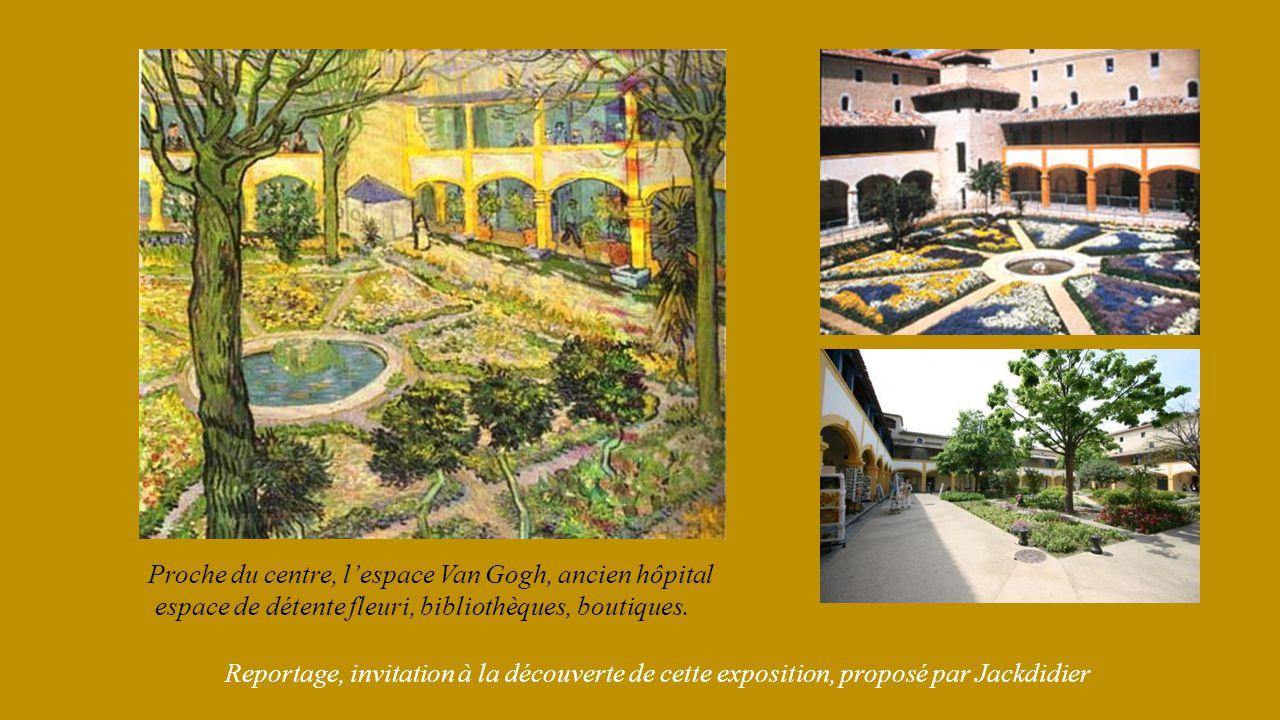 Proche du centre, l'espace Van Gogh, ancien hôpital