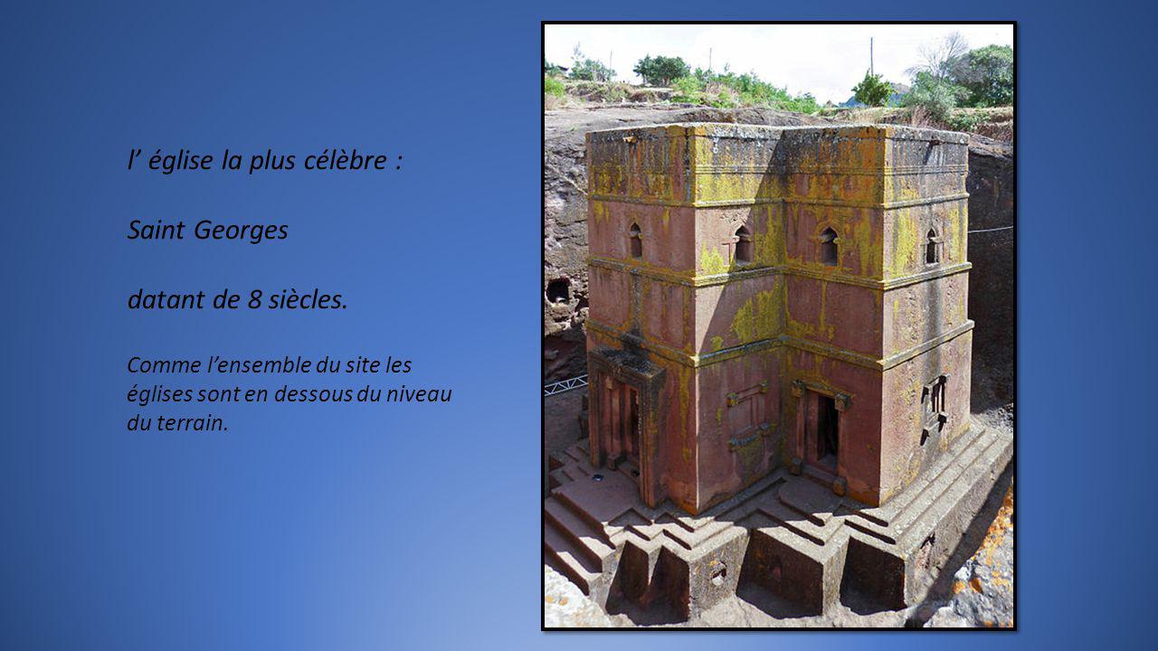 l' église la plus célèbre : Saint Georges datant de 8 siècles.