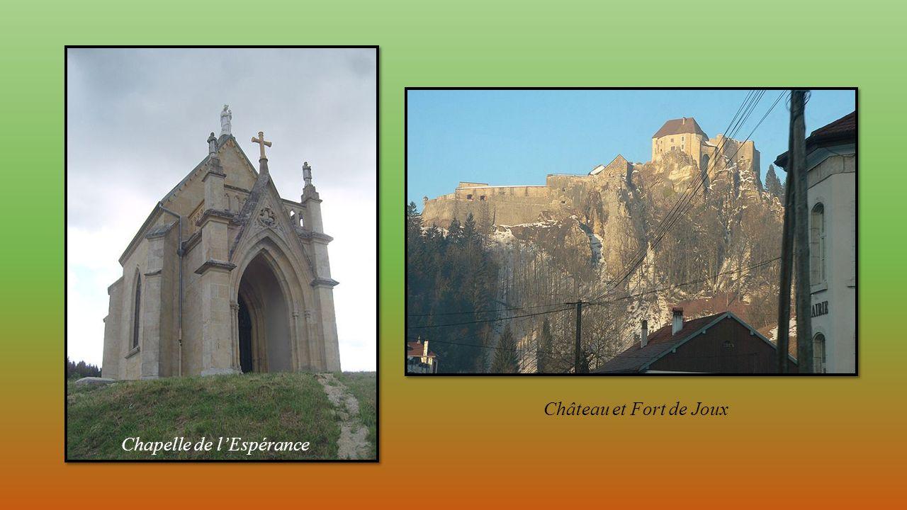 Château et Fort de Joux Chapelle de l'Espérance