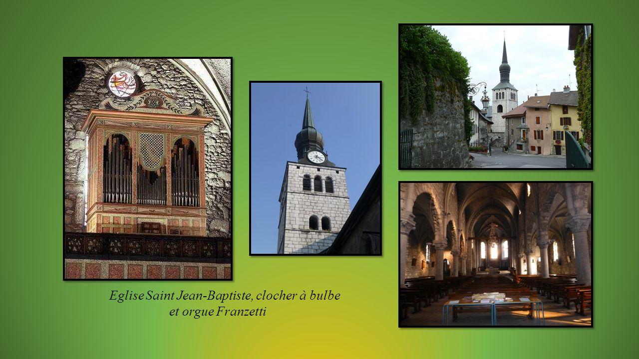 Eglise Saint Jean-Baptiste, clocher à bulbe