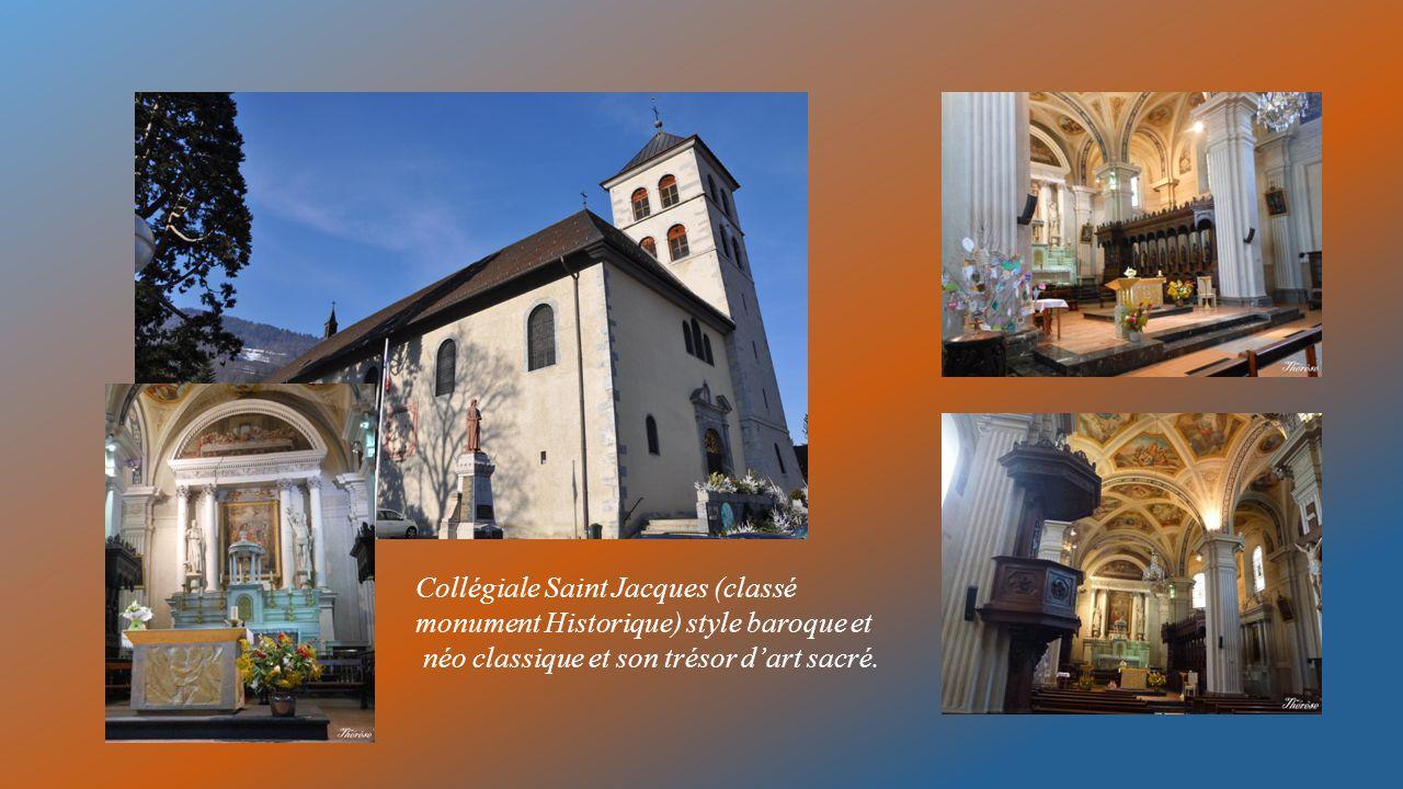 Collégiale Saint Jacques (classé monument Historique) style baroque et