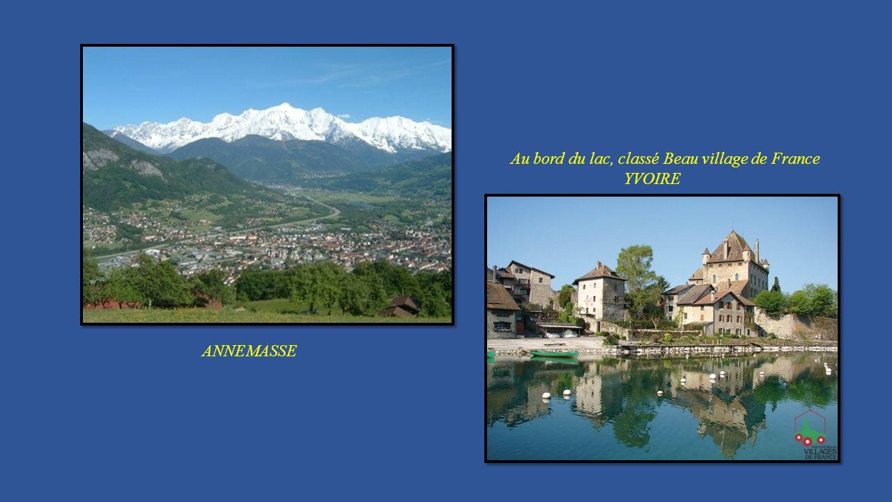 Au bord du lac, classé Beau village de France