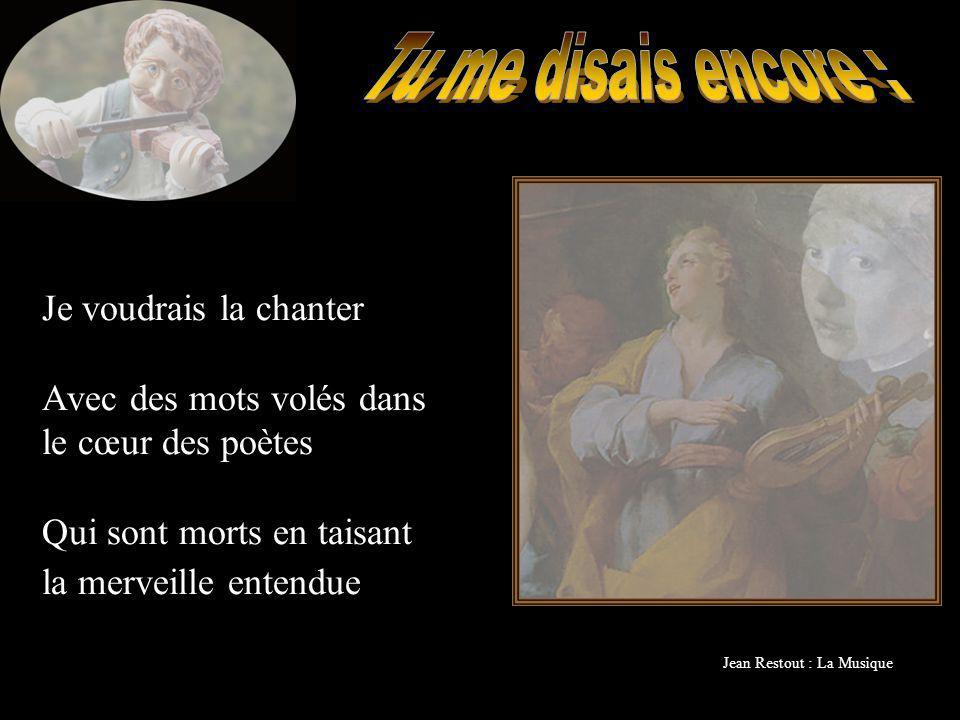 Jean Restout : La Musique