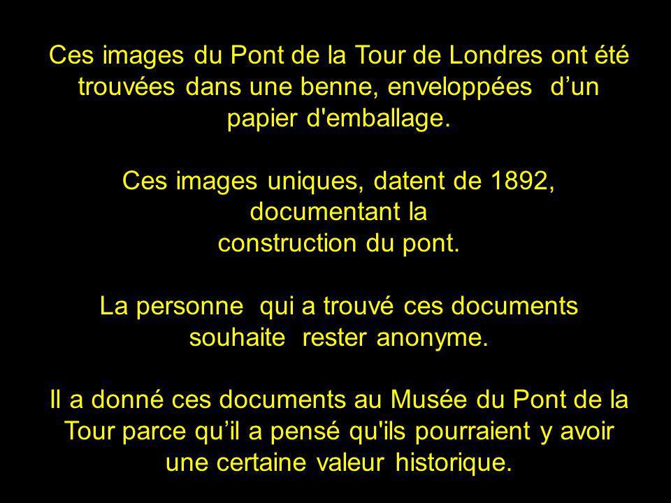 Ces images du Pont de la Tour de Londres ont été
